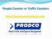 Advantages of People Counter or Traffic Counters