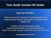 York, South Carolina SC hotels, Hotels