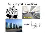 Technology & Innovations