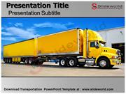 Transportation PowerPoint Templates - Slideworld