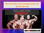 Best ProHormone Supplements For Quick Results