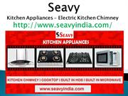 Seavy kitchen appliances - electric kitchen chimney price