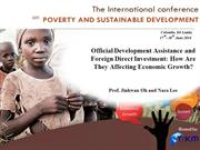 Official Development Assistance and Foreign Direct Investment