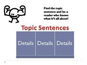 Topic Sentence HOOK