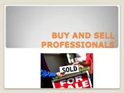 BUY AND SELL PROFESSIONALS