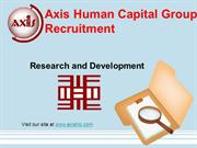 Axis Human Capital Group Recruitment: Research and Development