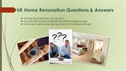 Fresh Home - House Refurbishment and Renovation Questions & Answers