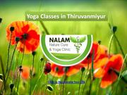 Yoga Classes in Thiruvanmiyur - Nalam Yoga