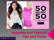 Apparels and Fashion Tips and Tricks