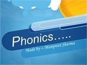 phonics or sounds'