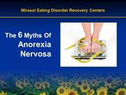 The 6 Myths Of Anorexia Nervosa