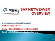 SAP NETWEAVER Online Training