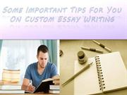 Custom Essay are not difficult as much you think.