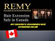 Remy Hair Extension Shop Canada