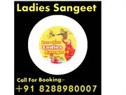 Ladies Sangeet group musical  live band anchor singer cal8288980007