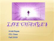Life Changes Instructor Sample