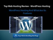 Top Web Hosting Review - WordPress Hosting