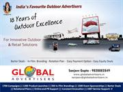 Great Deals  for Outdoor Brand Promotion in Mumbai-Global Advertisers