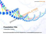 Animated DNA PowerPoint Templates and Backgrounds