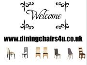 Find Black Boned Leather Dining Chairs