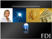 FDI Goes International Latest PPT