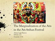 Marginalization of the Atis in the Ati-Atihan festival