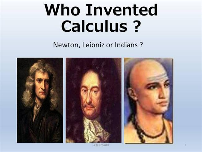 who invented calculus