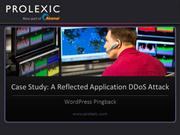 DDoS Attack Case Study | WordPress Pingback Reflection Attack