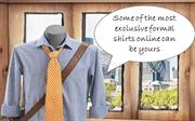 Some of the most exclusive formal shirts online can be yours