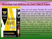 Motorkote Fuel Additives for Every Type of Engine
