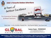 Maximum discount on Outdoor Promotion – Global Advertisers