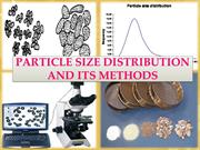 particle size and its methods