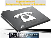 Significance of Telephone Systems in Business