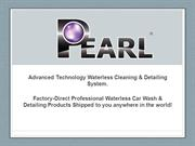 Pearl Waterless Car Wash Presentation