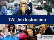 TWI Job Instruction by Operational Excellence Consulting