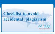 Check List To Avoid Plagiarism