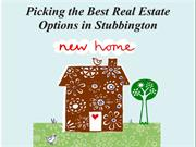 Picking the Best Real Estate Options in Stubbington
