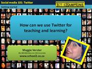Twitter tutorial for teachers
