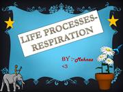 LIFE PROCESSES BY MEHNAZ