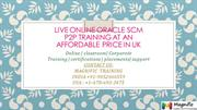 Live Online Oracle SCM P2P Training at an affordable price in uk