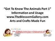 Get_To_Know_The_Animals_Part_1