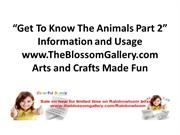 Get_To_Know_The_Animals_Part_2