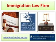 Immigration law firm - Manchanda-Law