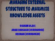 Managing External Structure to Maximize