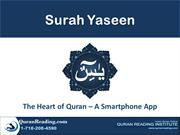 The Heart of Quran – A Smartphone App