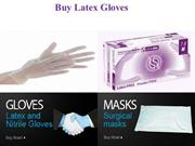 Buy latex gloves