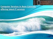 Computer Services in Avon Colorado offering latest IT services