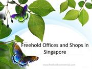 Freehold Offices and Shops in Singapore
