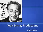 Walt Disney Powerpoint