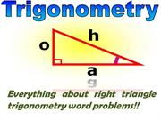 Everything about right triangle trigonometry word problems